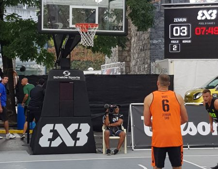 Lightring op World event 3x3 basket in Lausanne